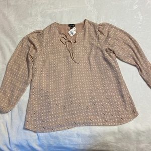Rose Pink NWT Blouse Le Chateau XXL